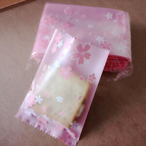 Mini Lace Self Adhesive Cookie Bags Cellophane Candy Gift Pouch Plastic Bag TO