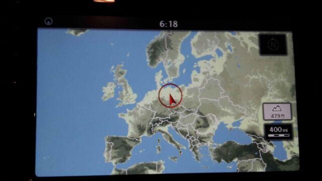 2019 V10 Vw Discover Media Navi As Map Karte Europa Europe Sd Card
