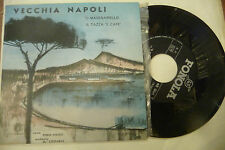 "PIERO NIGIDO""VECCHIA NAPOLI-disco 45 giri FONOLA It 1961"" RARO"