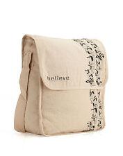 Believe Canvas Sling Bag