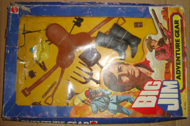 BIG JIM 9922 ADVENTURE GEAR EQUESTRIAN/ATTREZZATURA EQUESTRE MATTEL 1976