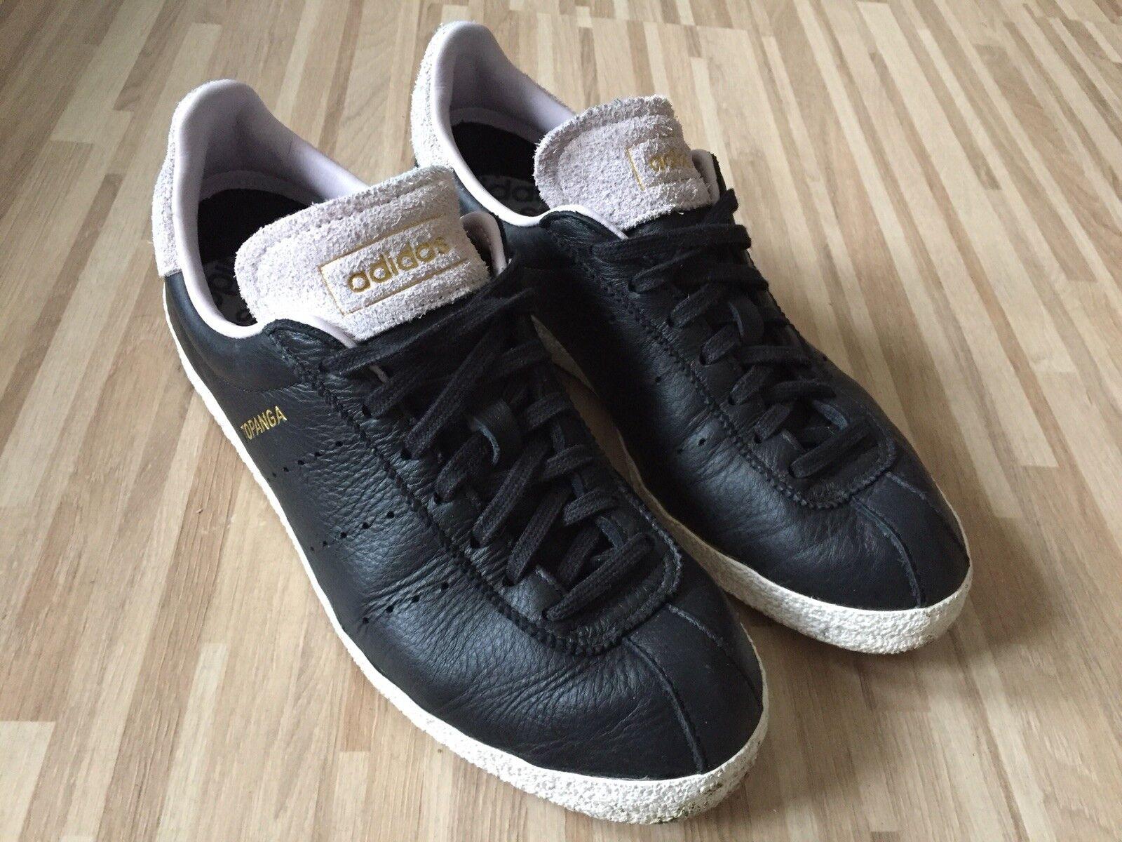 Original Adidas Topanga Sneaker, schwarz, Gr. neu 39, 6 UK, fast neu Gr. bacd83