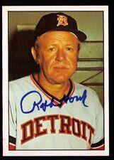 Ralph Houk Autographed SIGNED 1975 SSPC Card #352 Detroit Tigers NRMT !