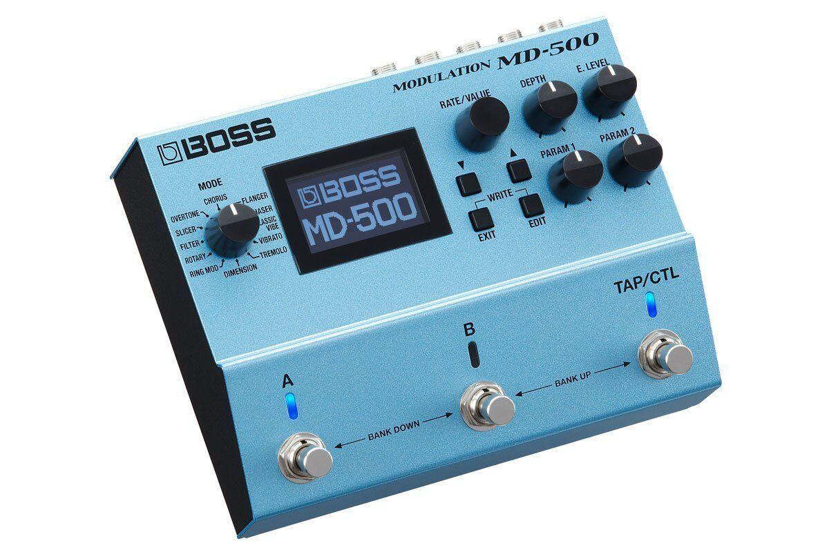 BOSS MD-500 Modulation Guitar Pedal Effect  FREE EMS