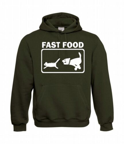 Fast Food Hommes Capuche