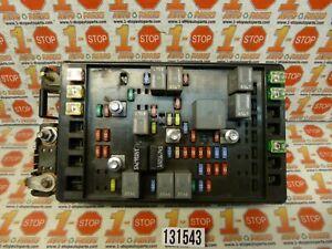 2005 05 ISUZU ASCENDER ENVOY TRAILBLAZER FUSE RELAY BOX 15210962 OEM   eBay   2005 Isuzu Ascender Fuse Box      eBay
