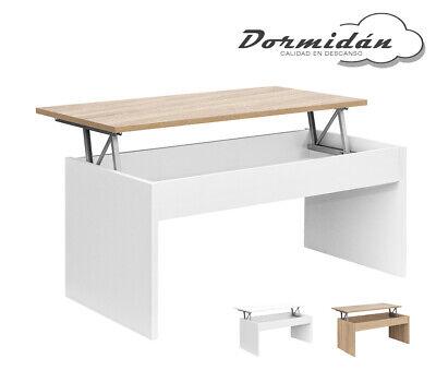 Mesa de centro elevable MC-5, salon / comedor, mayor grosor y estabilidad