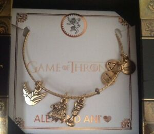 Authentic Alex and Ani Lannister Game of Thrones Rafaelian Gold Bangle