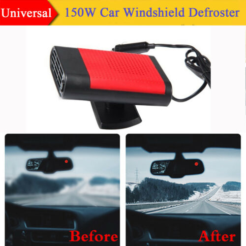 12V 150W SUV Car Windshield Heater Hot Cool Fan Demister Defroster 2 in 1 Modes