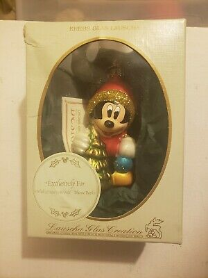 Krebs Glas Lauscha Disney Exclusive Christmas Ornament ...