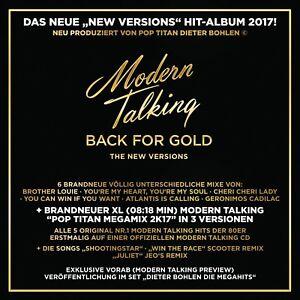 MODERN-TALKING-BACK-FOR-GOLD-CD-NEW