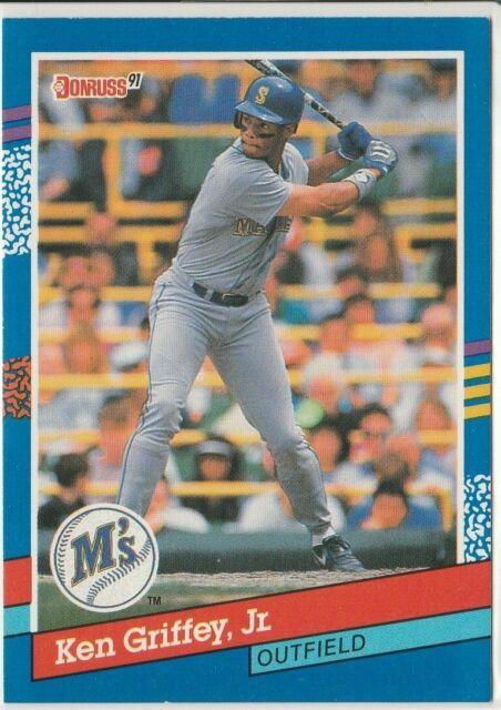 Ken Griffey Jr. (Seattle Mariners) 1991 Donruss '91 Series Card - Number 77