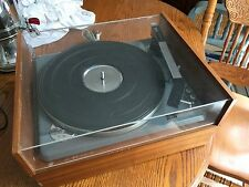 Vintage Mid Century Modern German Elac Miracord 10H Record Player Turntable