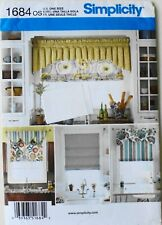 Roman Shades for 35 and 40 width windows 3910 Simplicity UNCUT sewing pattern