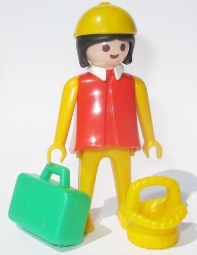 Playmobil FRAU Figur aus Set 3210 Reisende PKW Ersatzteil Klicky 1977