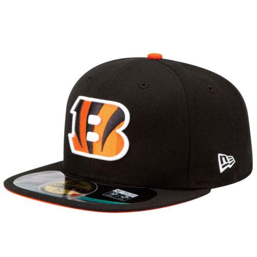 NFL ON FIELD Cincinnati Bengals schwarz New Era Cap