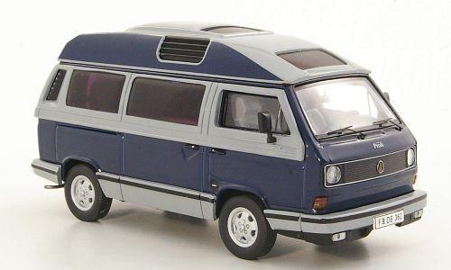 VW T3a Dehler Profi Camper  azul gris  (Premium Classixxs 1 43   11482)