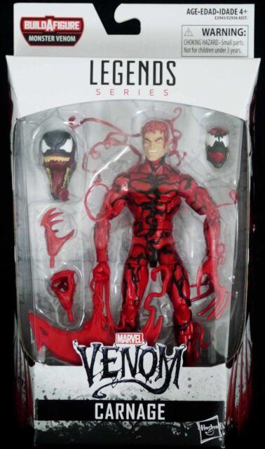 BAF Venom Hasbro 6-inch Preorder-PLEASE READ CARNAGE Marvel Legends Series