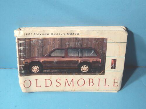 91 1991 Oldsmobile Bravada owners manual