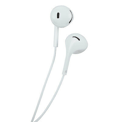 Insignia In-Ear Headphones Earbuds with Mic (NS-CAHEP01-C) - White