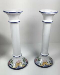 Portugal-Floral-Candle-Holder-Set-of-2-Manuela-from-Bentson-West-Designs-SF