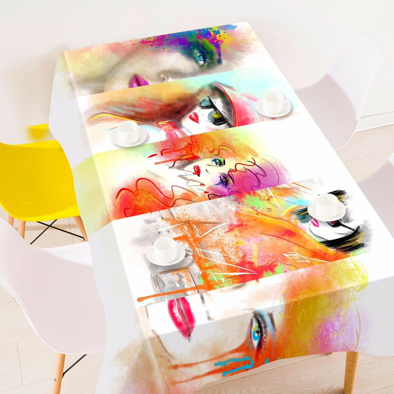 3D Girl 4812 Tablecloth Table Cover Cloth Birthday Party Event AJ WALLPAPER AU