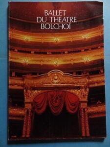 Ballet-du-Theatre-Bolchoi-programme-Palais-des-Congres-1979-Danse