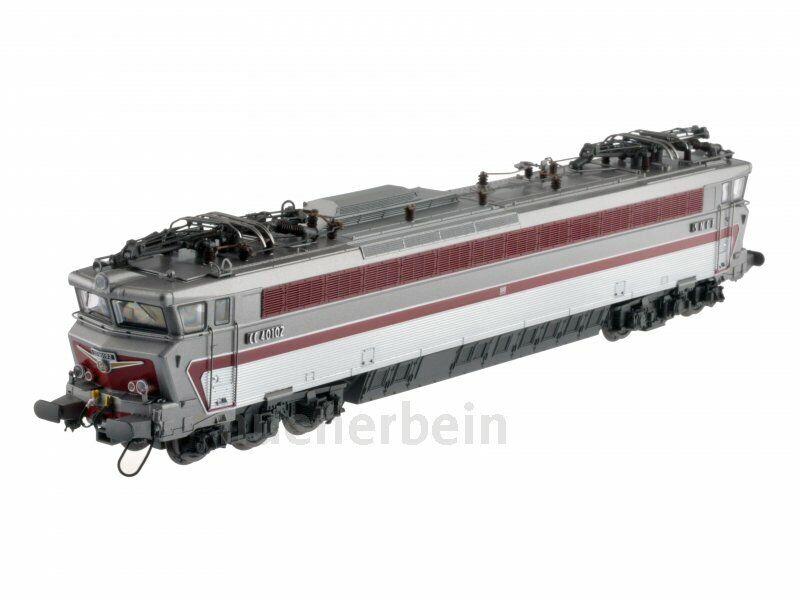 LS Modells 10024 SNCF CC 40100 6achs E-Lok silber (inox) rot Ep3b-4a DC NEU+OVP