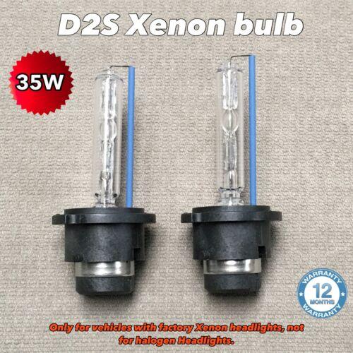 D2S 8000K 35W XENON HID LIGHT BULBS 04-07 FOR BMW E63 E64 630i 645i 635i