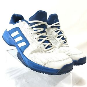 wholesale outlet sleek sneakers Details about Adidas Men's Barricade Tennis Shoes PYV 702001 White Leather  Size 13