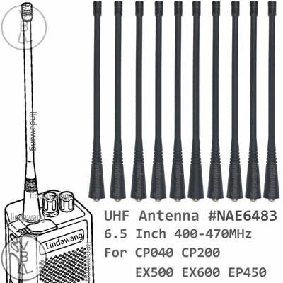 5* PMAE4002 UHF Antenna For Motorola GP2000 EX500 EX600 EP350 EP450 PR400 radio