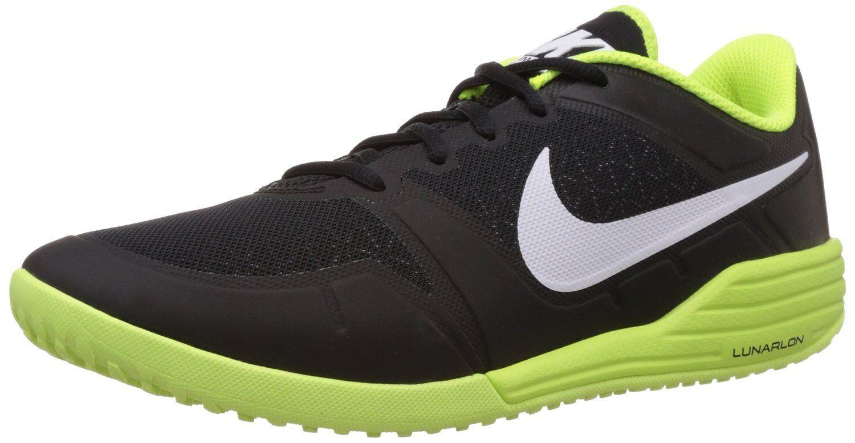 NIKE SHOES men LUNAR ULTIMATE TR Training Running SHOES NIKE 749162002 Black,Yellow size 12 7819e9