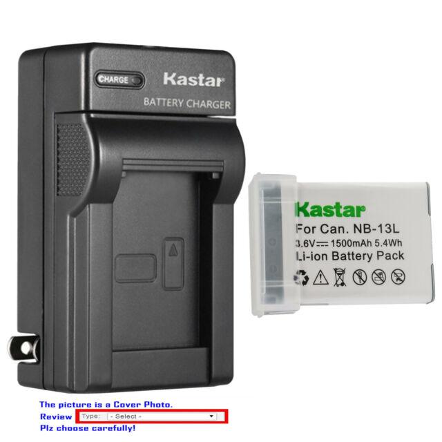 2 PC NB-2LH Li-Ion Batería para Canon PowerShot G7//G9