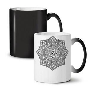 Mandala Art NEW Colour Changing Tea Coffee Mug 11 oz   Wellcoda