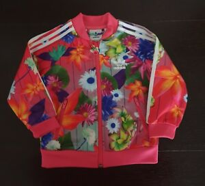 8d4fca127 Image is loading Kids-Girl-Adidas-Jacket-Age-9-12-Months