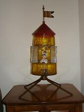 Victorian Antique Art Glass German Made Pied Piper Mulled Wine Dispenser