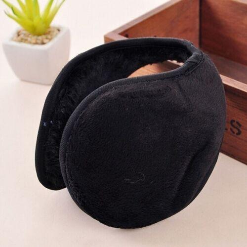 US 2x Men Women Winter Ear Muffs Ear Warmer Fleece Earwarmer Behind Head Band