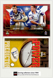 2005-Select-NRL-Power-Predictor-Card-Playmaker-PM2-L-PATTEN-B-SHERWIN