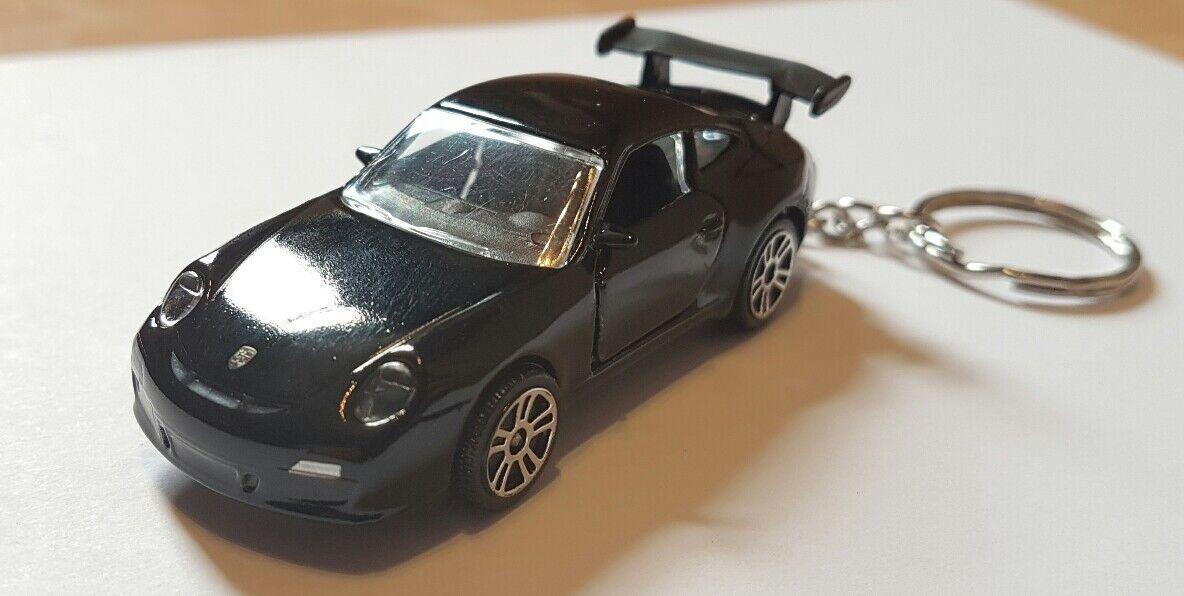 Majorette porsche 911 gt3 high detail diecast car keyring
