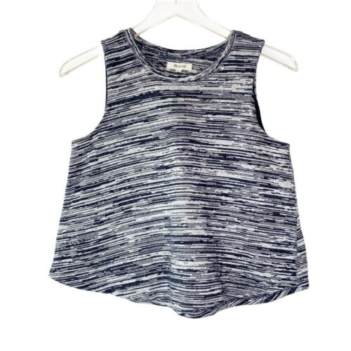 Madewell Space-Dyed Sleeveless Tank Top Sz S