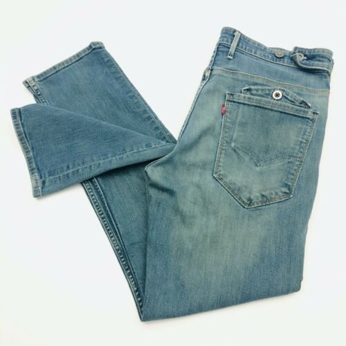 Levi's Rare Retro Straight Side Button Pockets Men