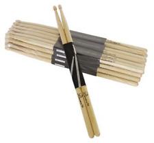 24 Paar DIMAVERY DDS-5B Junior Drumsticks Ahorn Maple Schlagzeugstöcke Sticks