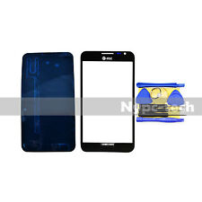 Black Replacement Screen Glass Lens for Samsung Galaxy Note 1 SGH-i717 + Tools