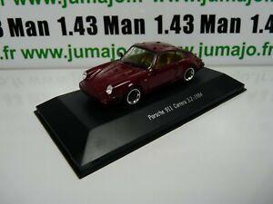 POR18W-voiture-1-43-atlas-NOREV-PORSCHE-911-PORSCHE-911-carrera-3-2-1984