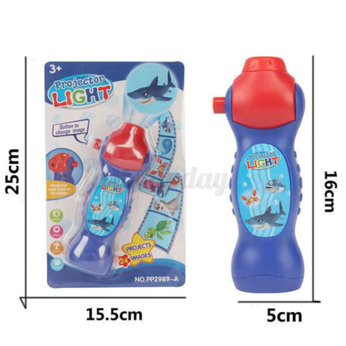 Dinosaur Pattern Torch Projector Flashlight Kids Bedtime Storys Educational Toy