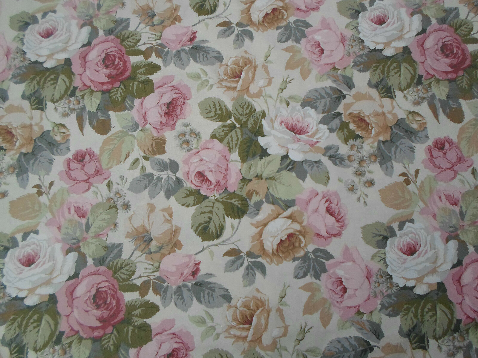 Sanderson Curtain Fabric  'Chelsea' 'Chelsea' 'Chelsea' 3.4 METRES DCN1C2202 Traditional Floral 4ae5d7