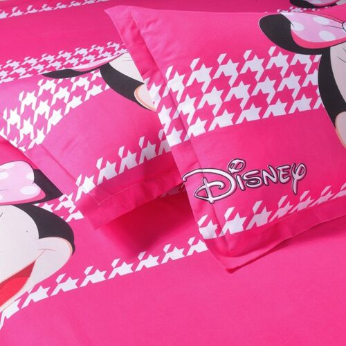 Mickey Minnie Mouse Duvet Cover with Pillow Cases Cartoon Bedding Sets All Sizes