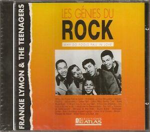 MUSIQUE-CD-LES-GENIES-DU-ROCK-EDITIONS-ATLAS-FRANKIE-LYMON-THE-TEENAGERS-N-47