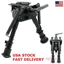 "US Adjust 6""- 9"" Harris style Rifle Gun Bipod Swivel Model Built in pivot-lock"