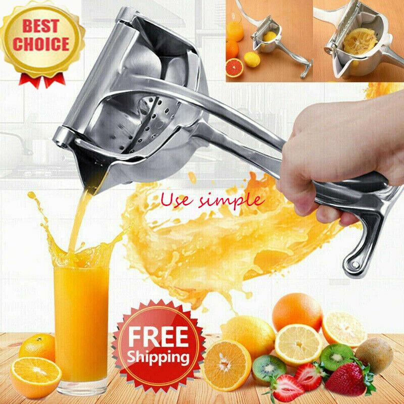Fruit Juicer Extractor Manual Aluminum Juicer Hand Juice Pre